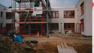 Schulgründung Baustelle